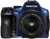 Pentax K-30 + 18-55mm - Spiegelreflexcamera - Blauw