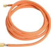 SIEV gasslang, 3/8L-3/8L draaibaar, le 2m, diam 4mm, slang rubber