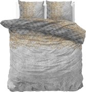 Sleeptime Chrone - Dekbedovertrekset - Lits-Jumeaux - 240x200/220 + 2 kussenslopen 60x70 - Grijs