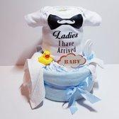 Luiertaart Romper Jongen   Kraamcadeau   Kraampakket   Baby Cadeau