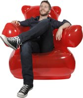 ThumbsUp! Gummy Bear Chair - Stoel - Rood