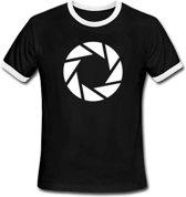 Portal 2 T-Shirt Aperture Symbol (Maat M)