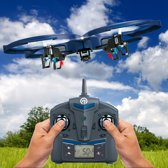 NINETEC Spaceship 9 RC Drone Video Foto en HD camera Accu 360° Flip Functie 2.4 GHz 4-Kanal 6-AXIS Stabilization System