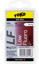 Toko - Ski/Snowboard Wax - Hot Wax Red - Low Fluor - Warm - 40 gram