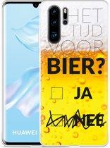 Huawei P30 Pro Hoesje Is het al tijd voor bier?