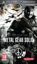 Metal Gear Solid, Peace Walker  PSP