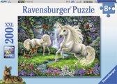 Ravensburger puzzel Mystieke eenhoorns - Legpuzzel - 200 stukjes