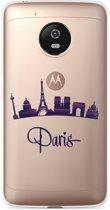 Motorola Moto G5 Plus hoesje Parijs