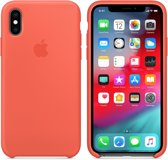 Apple Siliconen Back Cover voor iPhone Xs - Nectarine