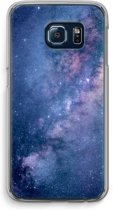 Samsung Galaxy S6 Edge Transparant Hoesje (Soft) - Nebula