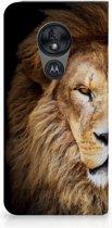 Motorola Moto G7 Power Standcase Hoesje Design Leeuw
