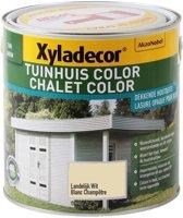 Xyladecor Tuinhuis Color - Houtbeits - Landelijk Wit - Mat - 2,5L