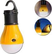 Tentlamp   Draagbare lamp   Kampeerlicht   Kampeerlamp   Lamp voor kamperen en vissen   Waterdichte lamp   LED   Campinglamp   Ophangbaar   Geel