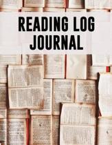 Reading Log Journal