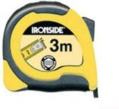 Ironside ABS tweezijdig afleesbare rolmaat 3m