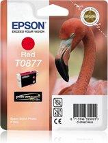 Epson T0877 - Inktcartridge / Magenta