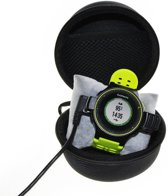 Universele Smartwatch / Activity Tracker Hard Cover Carry Case - Opberghoes Sleeve Beschermhoes Tas Hoes Opbergtas - Zwart