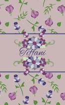 Tiffani: Small Personalized Journal for Women and Girls