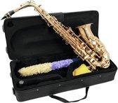 DIMAVERY Alto Saxofoon - goud - SP-30 Eb - Inclusief koffer en accessoires
