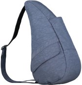 Healthy Back Bag Textured Nylon met Ipad vak Vintage Indigo Small 6303-VO