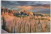 Plexiglas –Berglandschap– 60x40cm (Wanddecoratie van Plexiglas)