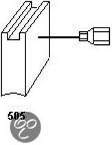Koolborstel-set 1361 voor Milwaukee handgereedschap, met automatische stop