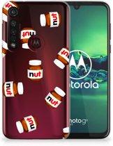 Motorola Moto G8 Plus Siliconen Case Nut Jar