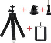 Octopus Tripod Statief Mount Voor Gopro / Action Camera & Smartphone