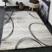 Vloerkleed - 2500 gr per m² - Tibet - Grijs - 6687 - 120x170 cm