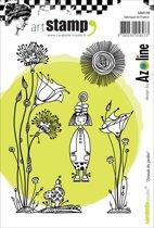 Carabelle Stamp De Tuin door azoline