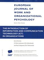 The Introduction of Information and Communication Technology ICT in Organizations