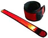 Hardloop Armband LED 25cm - Rood