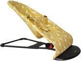 UKJE.NL HOES voor Wipstoel BabyBjörn Balance 1-2-3 (oud model BabyBjörn) - Geel giraffe - LEES DE UITLEG!
