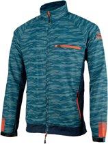 839dd4e4b3 Rogelli Broadway Hardloopjack Heren Sportjas - Maat XL - Mannen - blauw rood