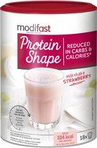 Modifast Protein Shape Milkshake Aardbei - 540 gr