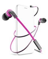 Cellularline APMOSQUITO4 In-ear Stereofonisch Bedraad Zwart, Roze mobiele hoofdtelefoon