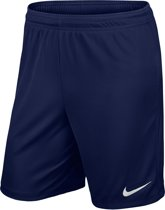 Nike Park Ii Knit Short Nb Sportshort Heren - Midnight Navy/White