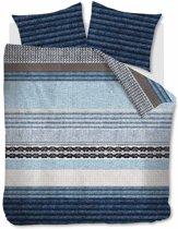 Beddinghouse Jools - Dekbedovertrek - Eenpersoons - 140x200/220 cm - Blauw