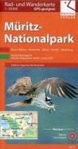 Rad- und Wanderkarte Müritz-Nationalpark 1 : 50 000