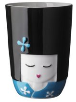 QDO Thermokop Kokeshi - 210 ml - Blauw