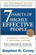 Boek cover The 7 Habits of Highly Effective People van Stephen Covey (Paperback)