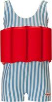 Beverly Kids UV drijfpakje Kinderen Funny Dancer - Blauw - Maat 92