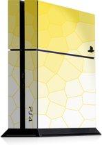 Playstation 4 Console Sticker Bio Cells Geel-PS4 Skin