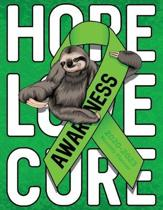 Non-Hodgkin's Lymphoma Cancer Awareness Ribbon and Cute Sloth Hope Love Cure: 2020-2023 Monthly Planner, Calendar, Notebook and More