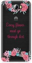 Huawei Y5II / Y6II Compact Hoesje Every Flower