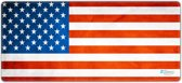 Muismat gaming USA vlag 90 x 40 cm - Sleevy