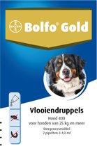 Bolfo Gold 400 Anti vlooienmiddel - Hond - >25 kg - 2 pipetten