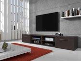 Meubella - TV-meubel Bash II - Wenge - 240 cm