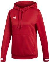 adidas Team 19 Dames Hoody - Sweaters  - rood - M