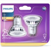 Philips LED-spotlight lampen Classic 3,1 W 215 lumen 2 st 929001217531